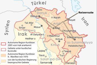 Eine Reise durch Kurdistan/Irak