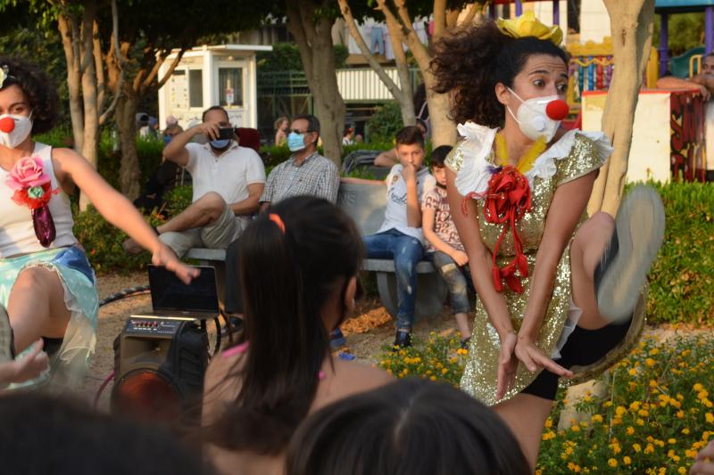 Eine Clownin in Beirut – Engl.